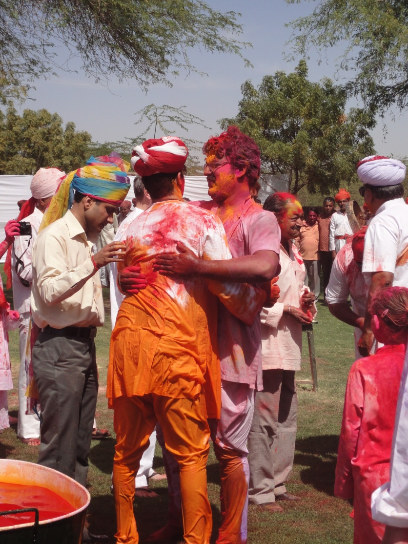 A colourful embrace - Holi at Umaid Bhawan Palace, Jodhpur